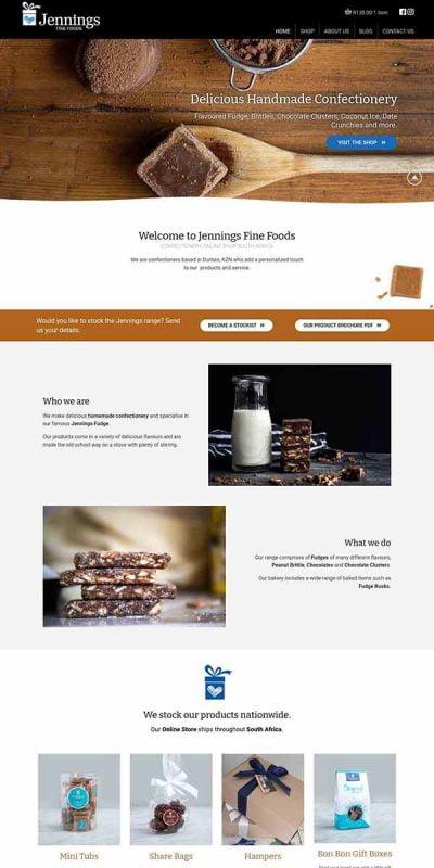 Jennings online shop website